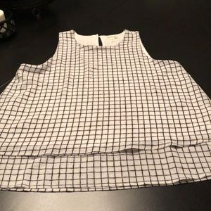 Sleeveless Top by Monteau of Los Angeles Large